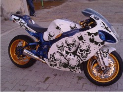 Custom Motorcycle Decals Motorcycle Graphics - Motorcycle decal graphics