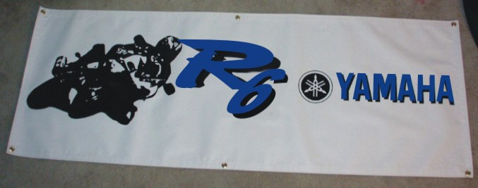 All Out Graphics Yamaha Race Banners