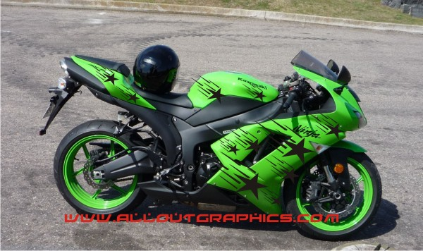 Star Scream Motorcycle Graphics - Motorcycle decal graphics
