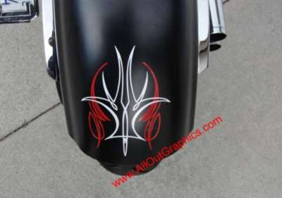 Metric Cruiser Motorcycle Graphics Decals Roadstar Fury Vstar Road Star Pinestripe Decals